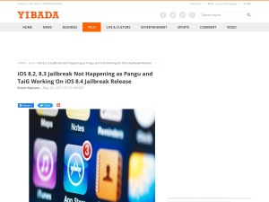 http://en.yibada.com/articles/33881/20150520/ios-8-2-8-3-jailbreak-pangu-and-taig-working-on-ios-8-4-jailbreak-release.htm