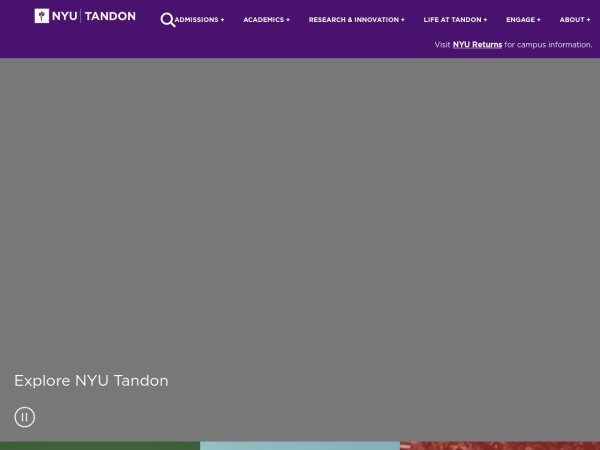 Screenshot of engineering.nyu.edu