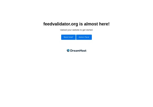 Screenshot of feedvalidator.org