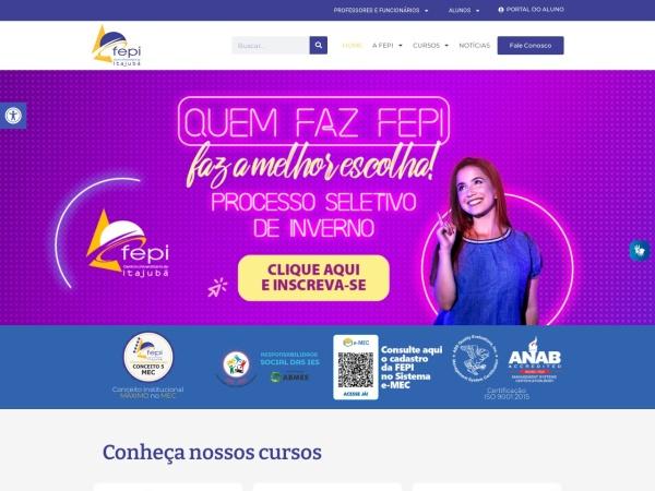 Screenshot of fepi.br