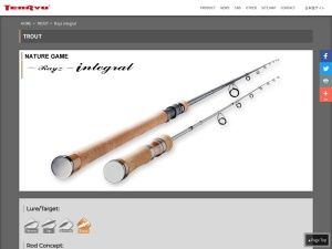 Screenshot of fishing.tenryu-magna.com