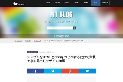 Screenshot of fit-jp.com
