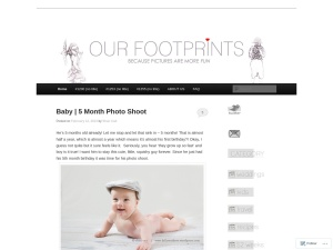 Our Footprints..... using the Twenty Eleven WordPress Theme