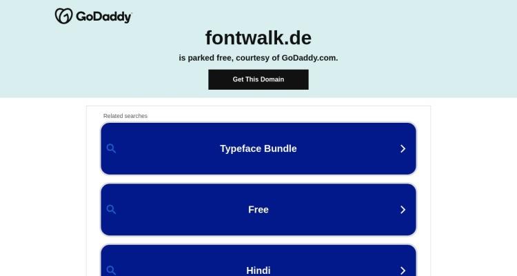 Fontwalk