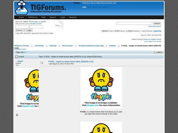 http://forums.tigsource.com/index.php?topic=14495.0