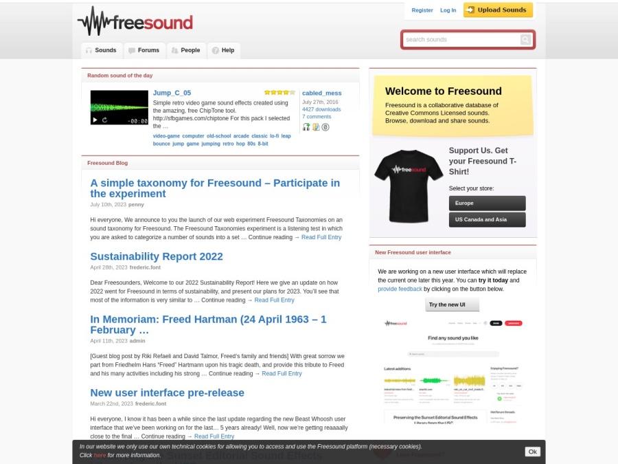 http://freesound.org/