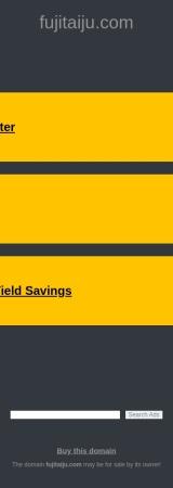 Screenshot of fujitaiju.com