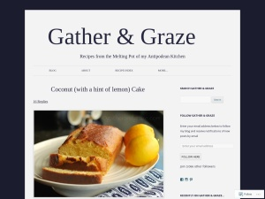 Gather & Graze using the Twenty Twelve WordPress Theme