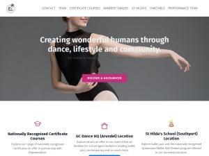 GC DANCE    using the Motif WordPress Theme