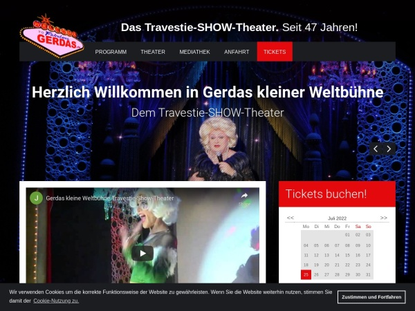 Screenshot of gerdas.de