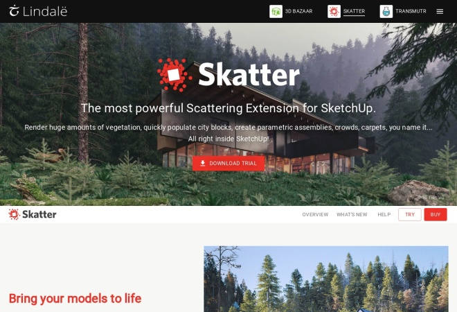 Screenshot of getskatter.com