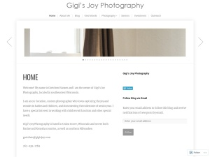 Gigi's Joy Photography Union Grove Racine Kenosha Burlington baby child lifestyle family photographer using the Photographer WordPress Theme