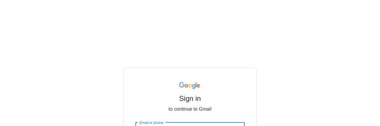 Screenshot of gmail.com