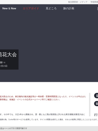 Screenshot of gotokyo.org