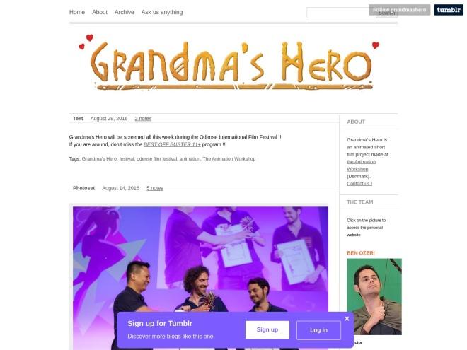 http://grandmashero.tumblr.com/