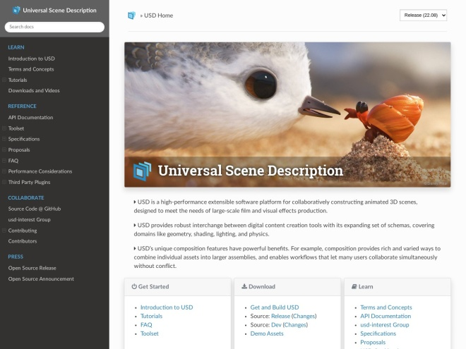 http://graphics.pixar.com/usd/docs/index.html