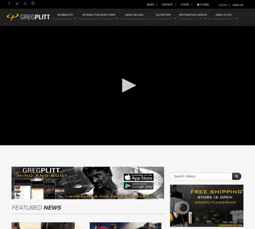 Screenshot of gregplitt.com