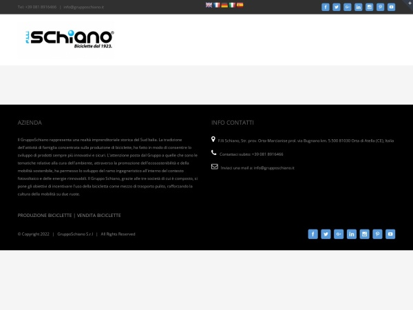 Screenshot of grupposchiano.it