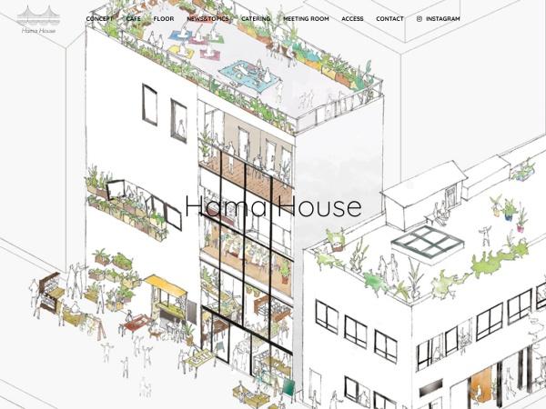 Screenshot of hamacho.jp