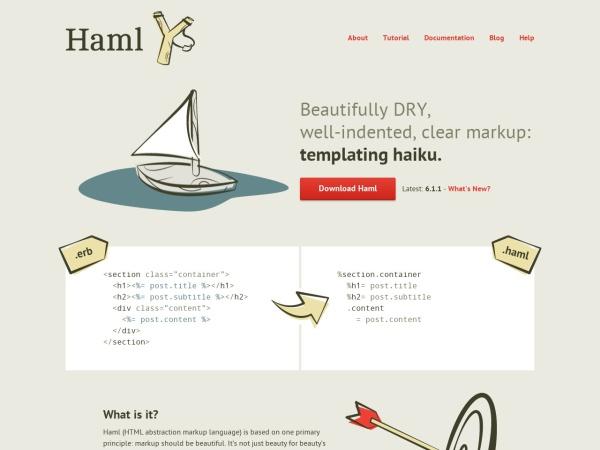 http://haml.info/