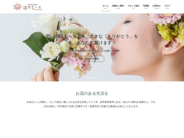 Screenshot of hananoace.com