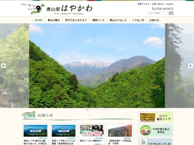 Screenshot of hayakawakankou.daa.jp