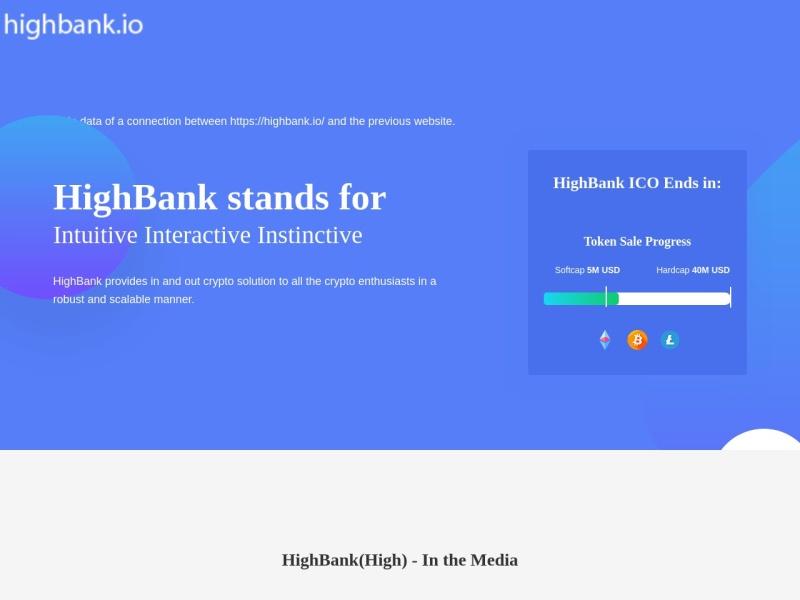http://highbank.io