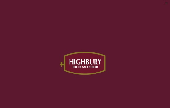 Screenshot of highbury-international.com