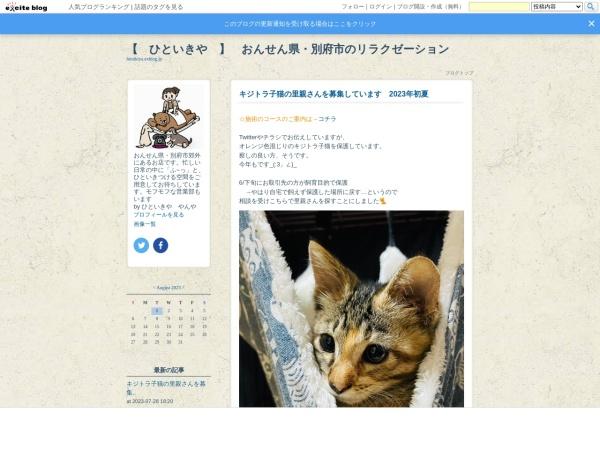 Screenshot of hitoikiya.exblog.jp