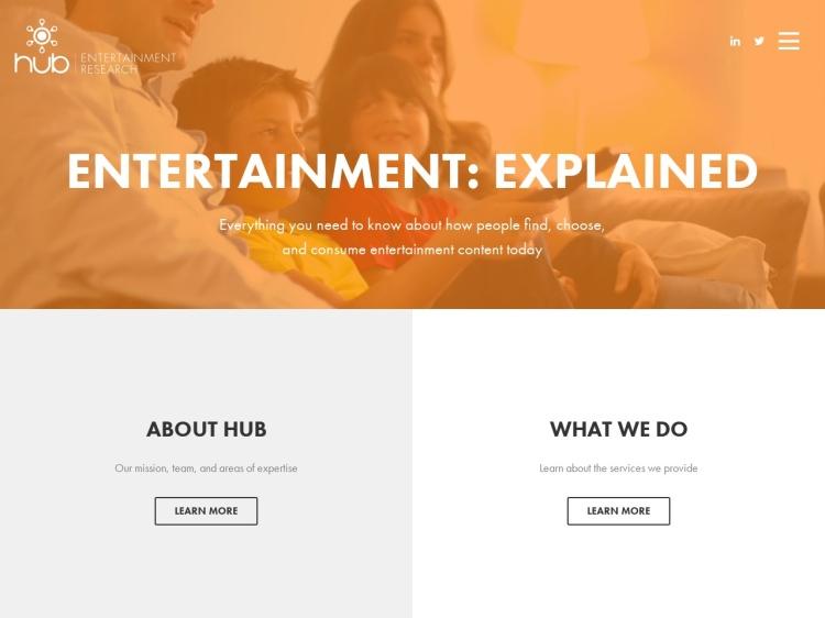 Hub Entertainment Research - Media Industry Market Data Leader