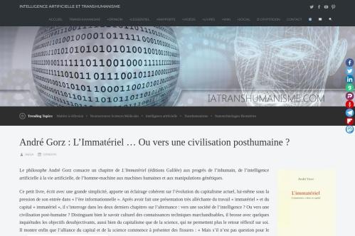 http://iatranshumanisme.com/2015/09/12/andre-gorz-limmateriel-ou-vers-une-civilisation-posthumaine/