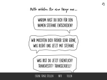 http://ichbinstefanie.ch/questions