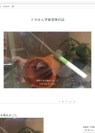 Screenshot of igasen.blog22.fc2.com