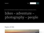 Lens WordPress Theme example