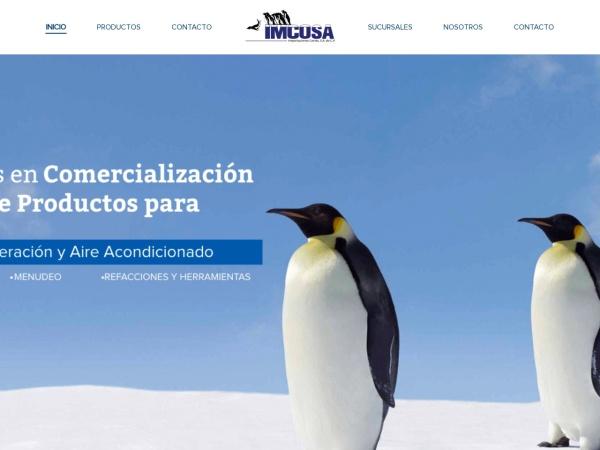Captura de pantalla de imcosamex.com