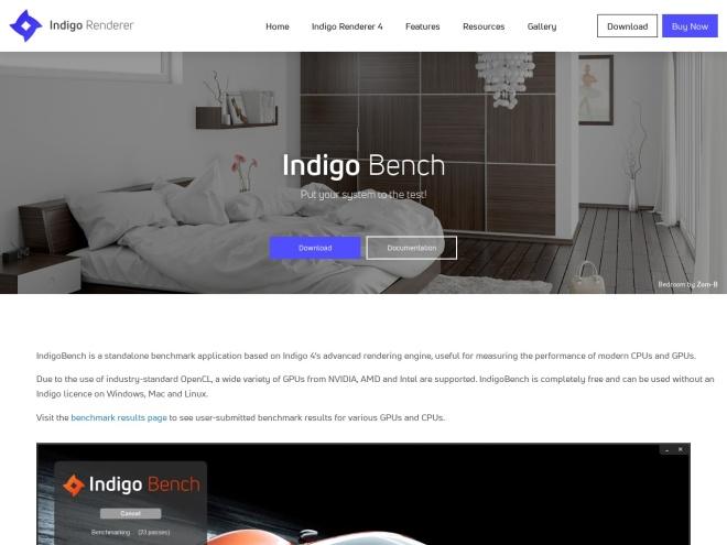 http://indigorenderer.com/indigobench