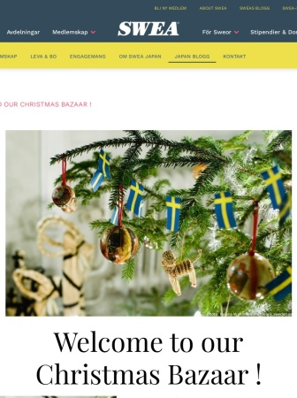 Screenshot of japan.swea.org