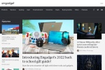 Screenshot of japanese.engadget.com