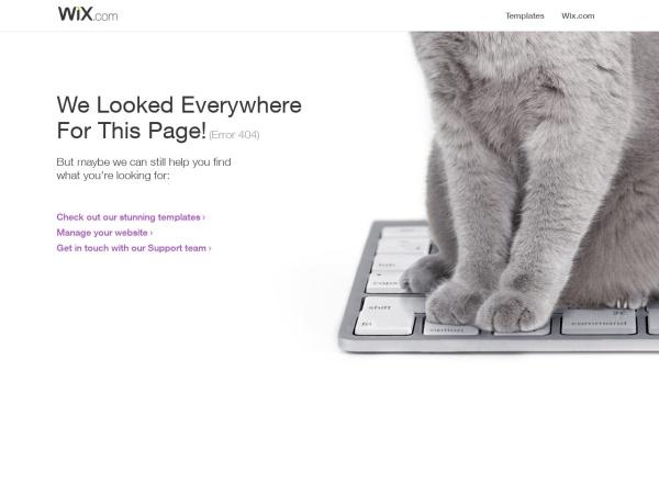 Screenshot of jinjya.wix.com
