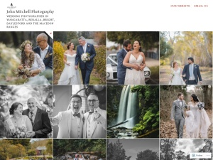 John Mitchell Photography  using the Lens WordPress Theme