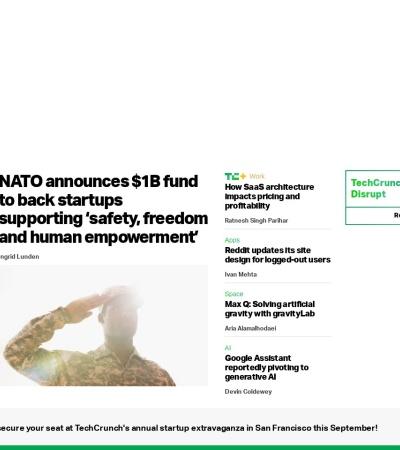Screenshot of jp.techcrunch.com