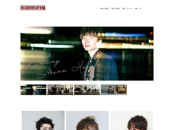 Screenshot of kaming-salon.net