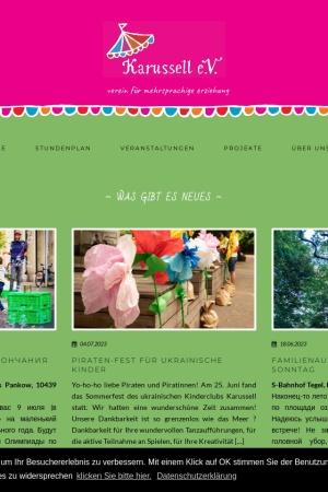 Screenshot of karussell-ev.de