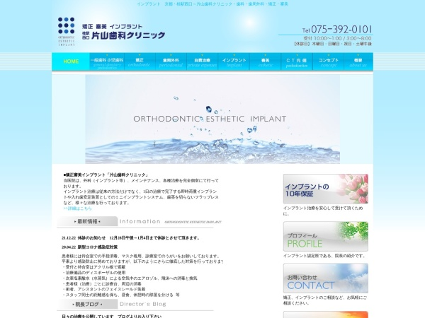 Screenshot of katayamasika.com