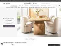 15% Off Over $100 Your First Purchase at Kathy Kuo Home