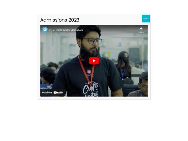 Screenshot of khi.nu.edu.pk