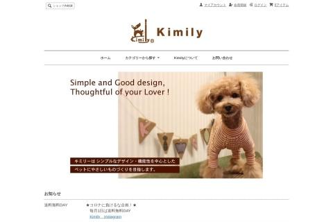 Screenshot of kimily.com