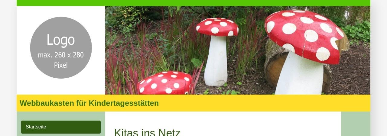 Screenshot von kindergarten-pusteblume.e-kita.de