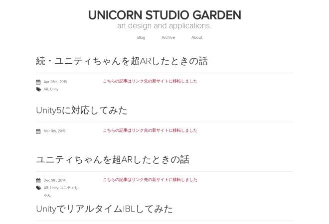 Screenshot of kosakasakas.github.io