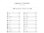 http://kudakurage.com/ligature_symbols/